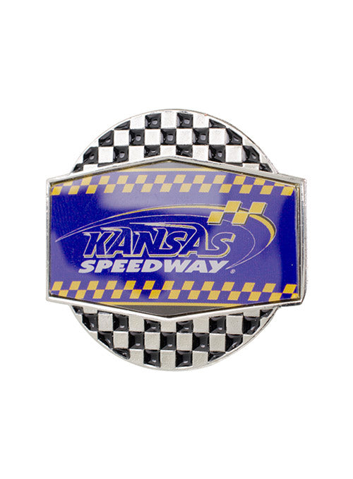 Kansas Speedway Checkered Hatpin