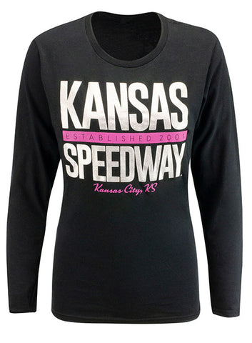 Ladies ISM Raceway Open Shoulder Shirt