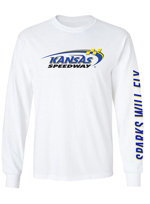 Kansas Speedway Sparks Will Fly Long Sleeve T-Shirt