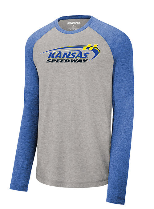 Kansas Long Sleeve  Raglan T-shirt