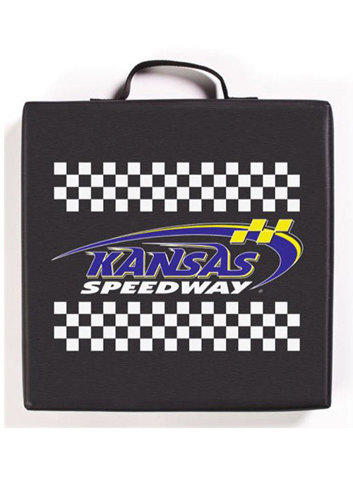 Kansas Speedway Checkered Seat Cushion