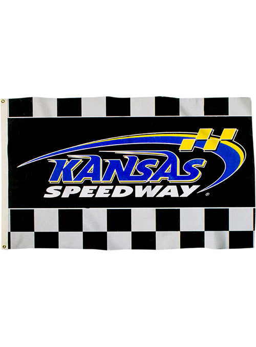 Kansas Speedway Checkered 3' x 5' Flag
