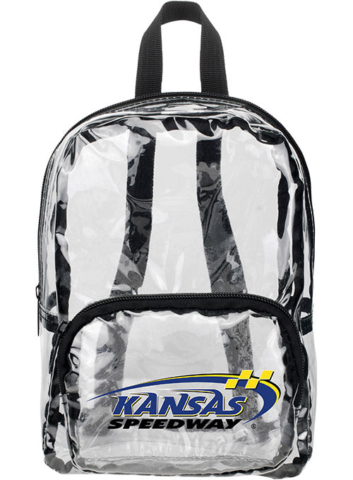 Kansas Speedway MINI Clear Backpack