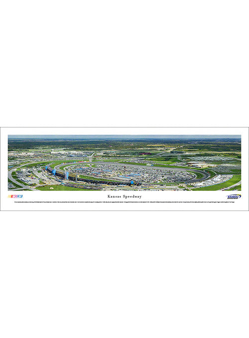 Kansas Speedway Unframed Panoramic Photo