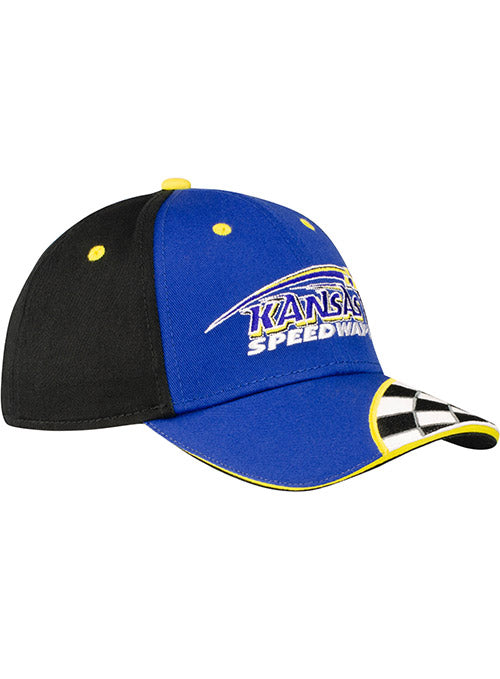 Youth Kansas Speedway Checkered Hat