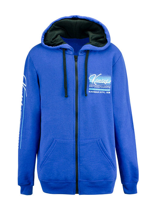 Youth Kansas Speedway Full Zip Hoodie