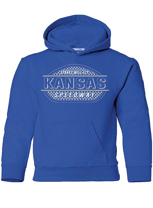 Youth Kansas Speedway Track Sweatshirt