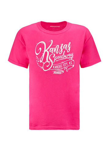 Youth Auto Club Speedway Lefty T-shirt