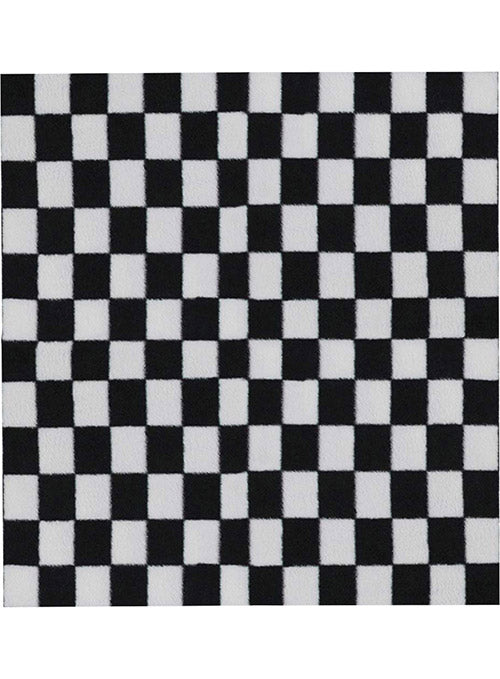 Checkered Plush Blanket