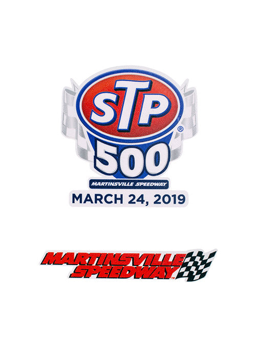 2019 STP 500 2-Pack Decal