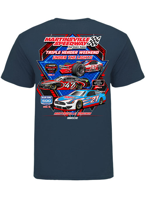 2021 Martinsville Triple Header Tee