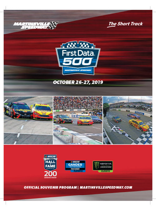 2019 First Data 500 Event Program