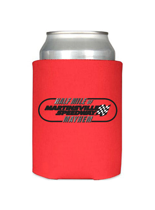 Martinsville Speedway Half Mile of Mayhem Can Cooler