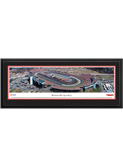 Martinsville Speedway Deluxe Frame Panoramic Photo