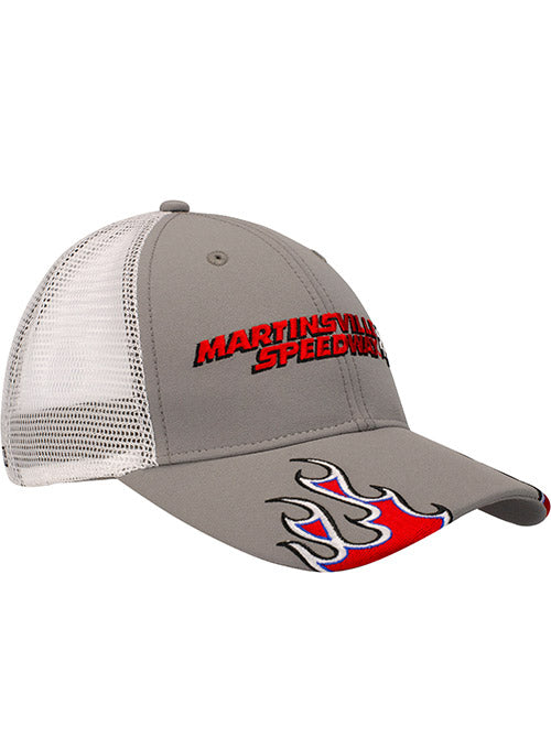 e573f54f5 Martinsville Speedway Trucker Flame Hat – Pit Shop Official Gear