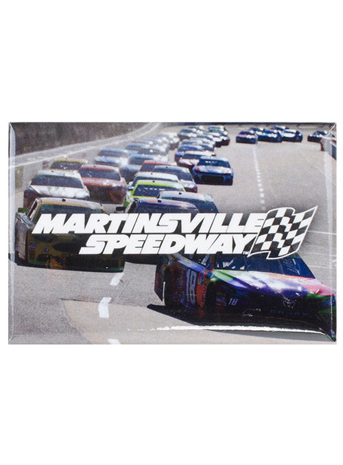Martinsville Speedway Photo Button Magnet