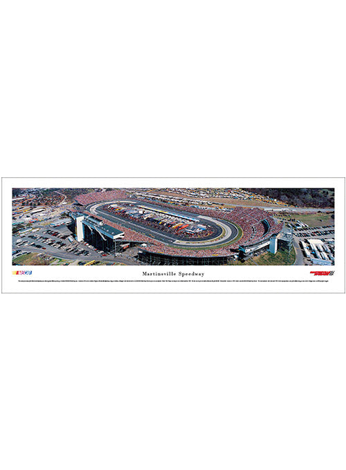 Martinsville Speedway Unframed Panoramic Photo