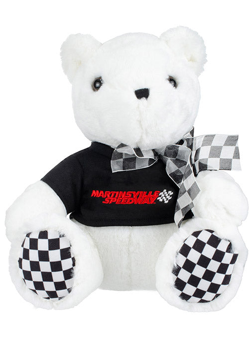 Martinsville Speedway Checkered Paw Teddy Bear