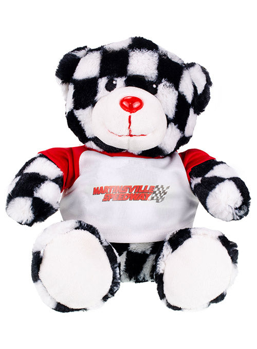 Martinsville Speedway Checkered Teddy Bear