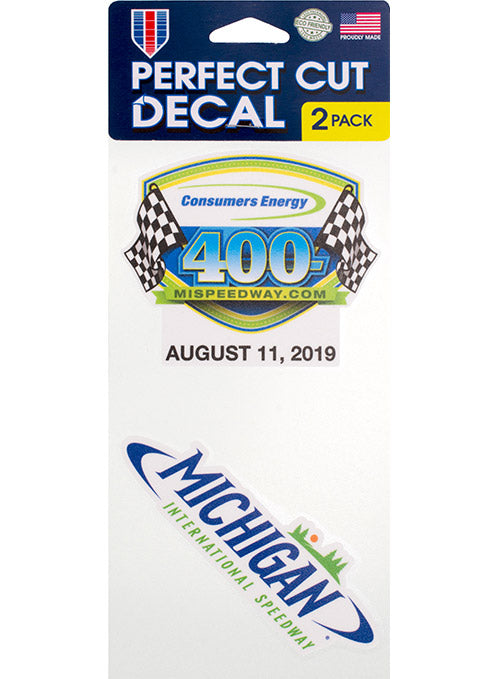 2019 Consumers Energy 400 2-Pack Decal