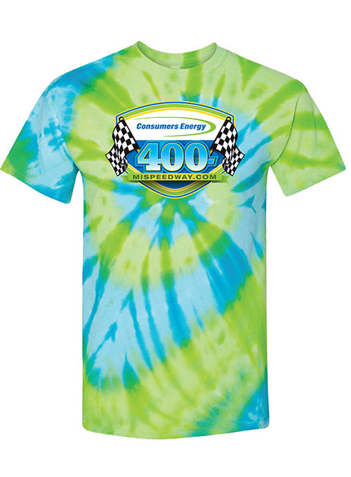 2019 Consumers Energy 400 TieDye T-Shirt