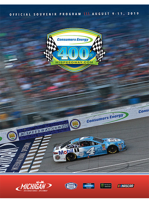 2019 Consumers Energy 400 Event Program