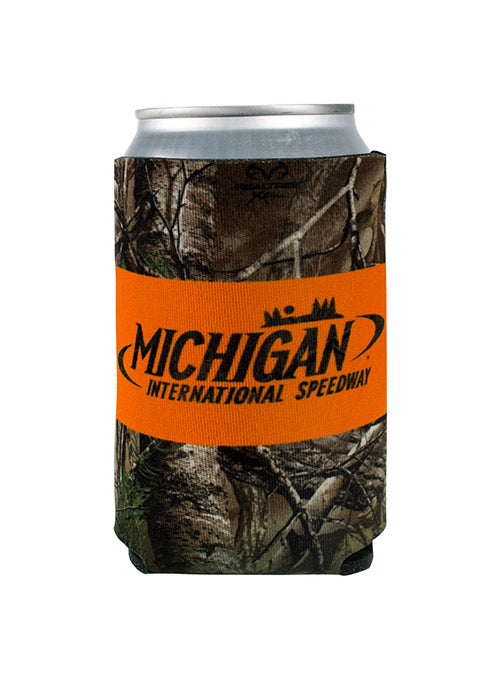 Michigan International Speedway Camo Can Cooler
