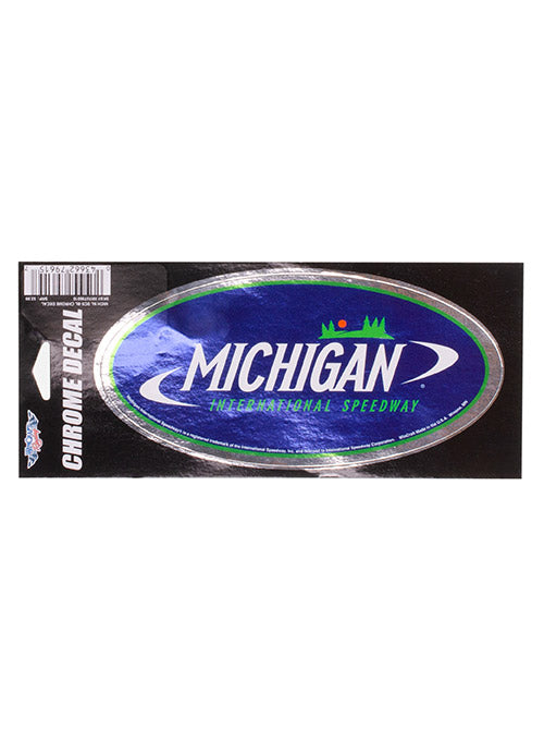 Michigan International Speedway Chrome Decal