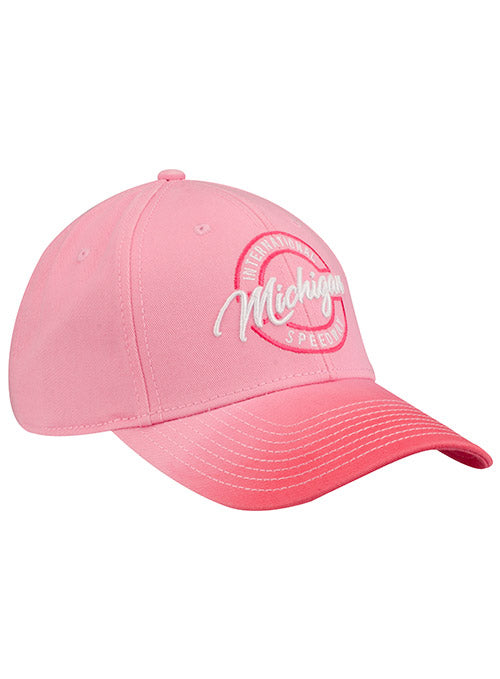Ladies Michigan International Speedway Pink Ombre Hat