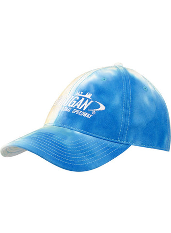 Ladies Kansas Speedway Teal Hat