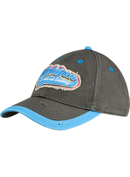 Ladies Michigan International Speedway Distressed Hat