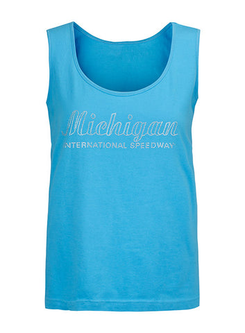 Michigan International Speedway Black Heather Tank Top