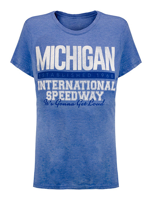 Ladies Michigan International Speedway T-Shirt
