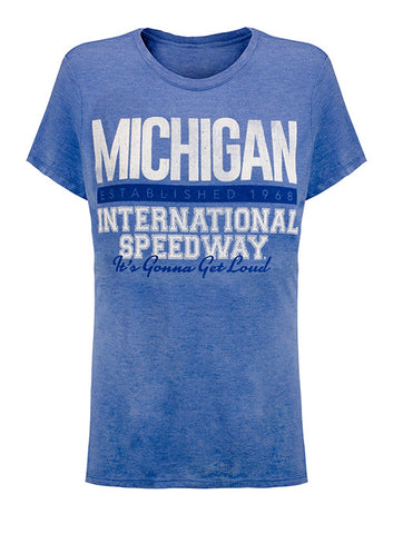 Michigan International Speedway Patriotic Pocket T-Shirt