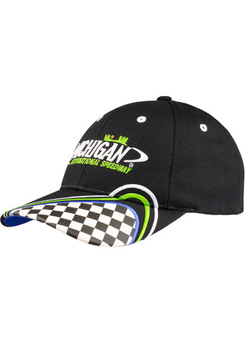 Youth Michigan International Speedway Flames Hat