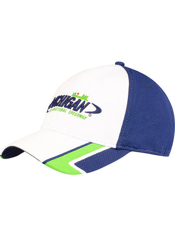Michigan International Speedway American Flag Patch Hat