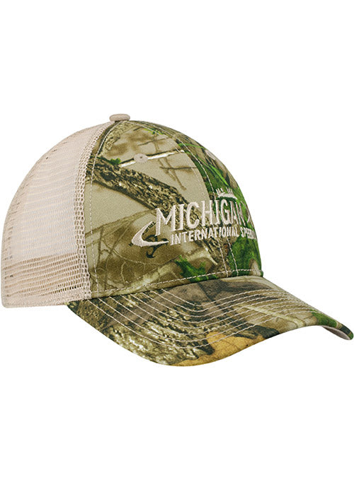 Michigan International Speedway Camo Trucker Hat