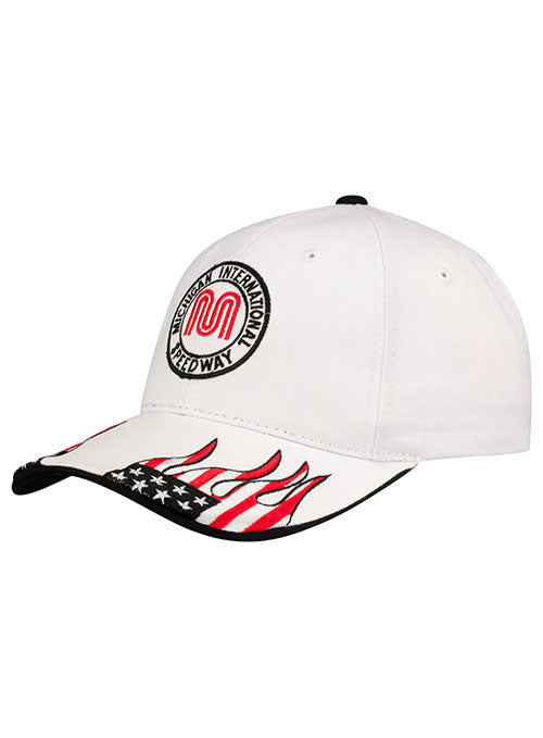 Michigan International Speedway Blue Flame Hat
