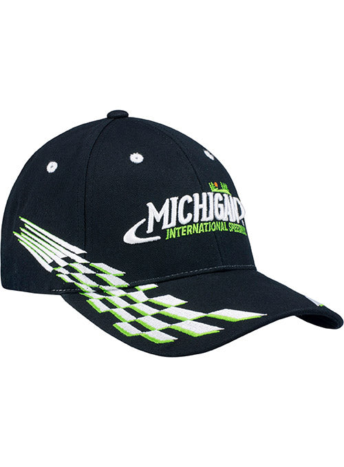 Michigan International Speedway Checkered Flag Hat
