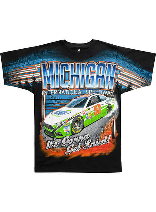 Michigan International Speedway Get Loud Sublimated T-Shirt