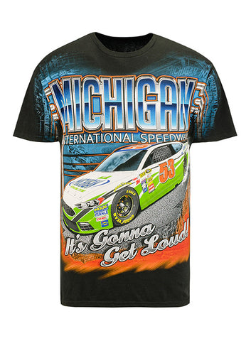 Michigan International Speedway Car T-Shirt