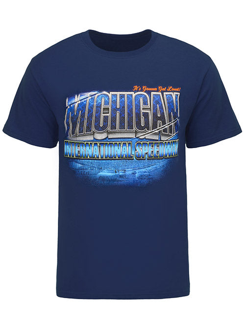 Michigan International Speedway Navy T-Shirt
