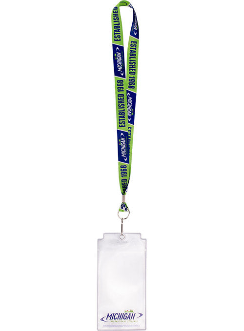 Michigan International Speedway Credential Holder
