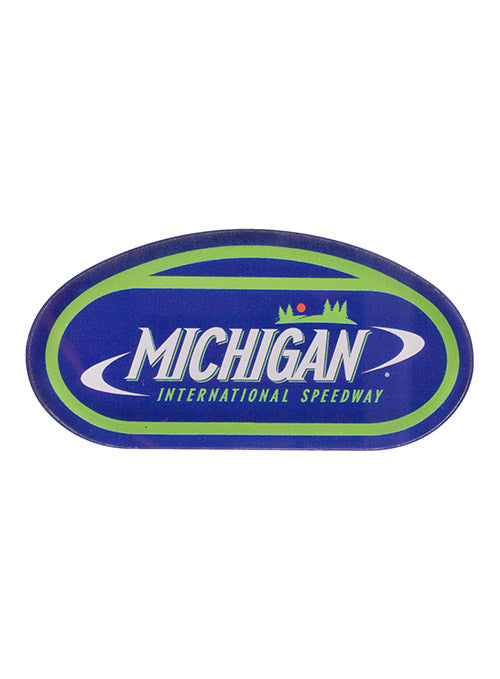Michigan International Speedway Track Outline Acrylic Magnet
