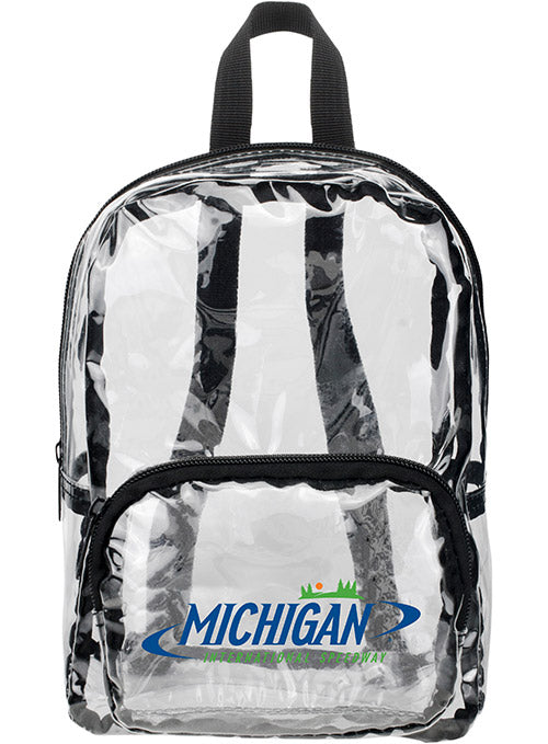 Michigan International Speedway MINI Clear Backpack