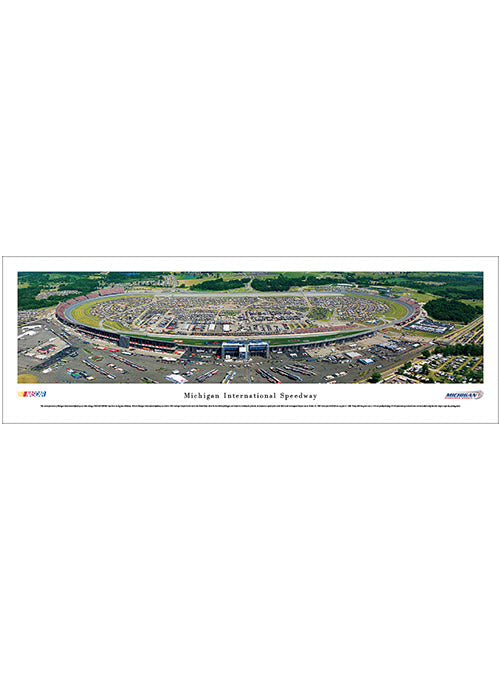 Michigan International Speedway Unframed Panoramic Photo