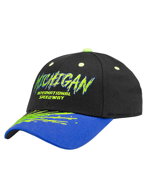 Youth Michigan International Speedway Splatter Hat
