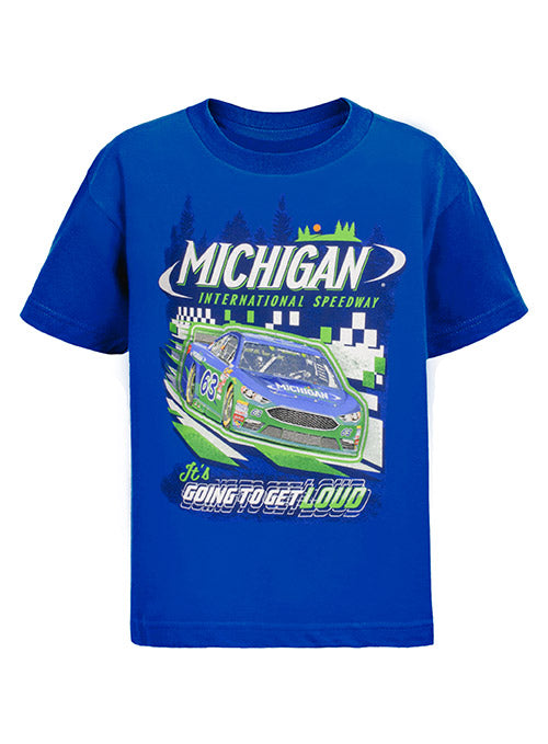 Youth Michigan International Speedway Car T-Shirt