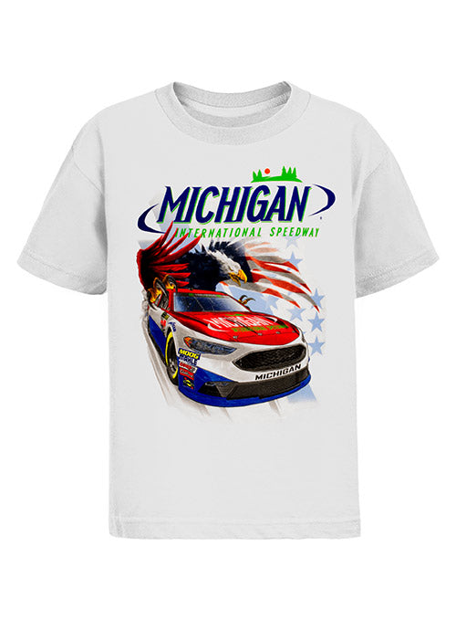 Youth Michigan Inernational Speedway Patriotic T-Shirt