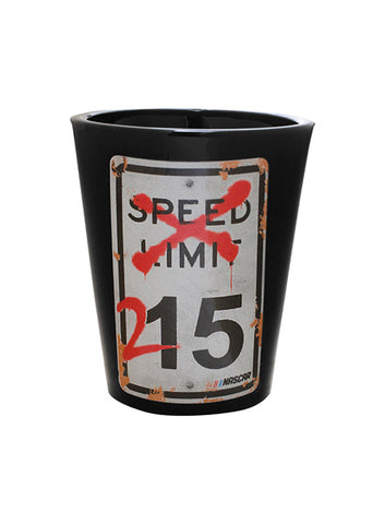 NASCAR Speed Limit Metal Sign